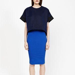 Forever 21 - Cobalt Form-Fitting Skirt